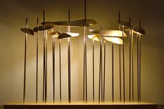 Artistic lamp made in brass, ANODINE | - Paolo Castelli