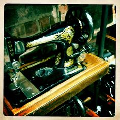 Old sewing machines...
