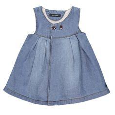 Marc O'Polo Baby Jeanskleid ärmellosen  #Babymode #Bekleidung #Baby #Kleid