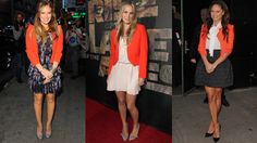 Spring 2012: Orange Blazers