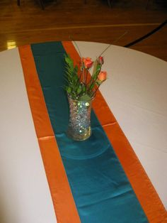 wedding ceiling decorations orange and teal - Google Search
