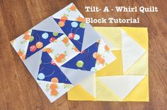 Virtual Quilting Bee -- Block #6 Tilt-A-Whirl Tutorial on Diary of a Quilter at http://www.diaryofaquilter.com/2013/05/virtual-quilting-bee-block-6.html