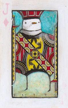 Bird Jack of Diamonds by *SethFitts on deviantART