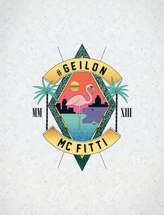 MC FITTI » #GEILON « Album Artwork by WE ARE BÜRO|BÜRO , via Behance