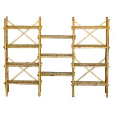 Found it at Wayfair - Bamboo Expanded Shelf System in Natural Might need this for my Tiki Hut.