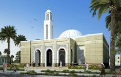 1234 Mosque Architecture, Modern Architecture, Islamic Center, Taj Mahal, Houses, Animation, Wallpaper, Mini, Building