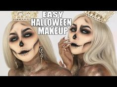QUEEN OF THE DEAD ||  SKULL HALLOWEEN MAKEUP TUTORIAL http://makeup-project.ru/2017/10/27/queen-of-the-dead-skull-halloween-makeup-tutorial/