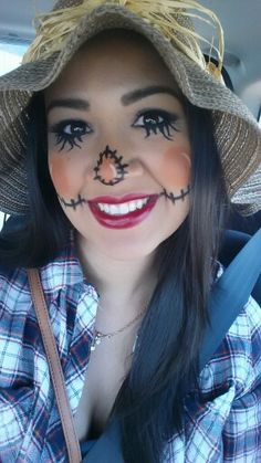 1000+ Images About Scarecrow Makeup On Pinterest | Scarecrow Makeup Scarecrows And Scarecrow ...