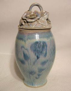 Large-Studio-Art-Pottery-Jar-Hand-Thrown-and-Built-Ceramic-Floral-Motif-Signed
