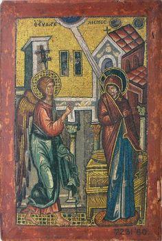 Мозаичная икона 1300-1325 года, Музей Виктории и Альберта, Великобритания