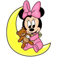 Disney Babies Clip Art | Baby Minnie Mouse - Disney And Cartoon Clip Art Images