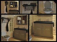 Landelijke badkamer by Van Heck badkamers