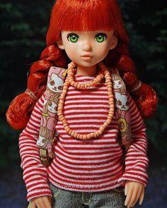 Ringelshirt for Ruruko #shirt  #ruruko  #doll  #ringel #petworks
