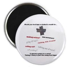 Would you duct tape a student's mouth...