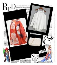 """Romwe"" by ermina-camdzic ❤ liked on Polyvore featuring WALL, Victoria's Secret and romwe"
