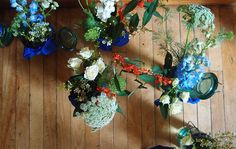 Country style table pieces
