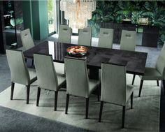Heritage Extending Dining Table - High Gloss