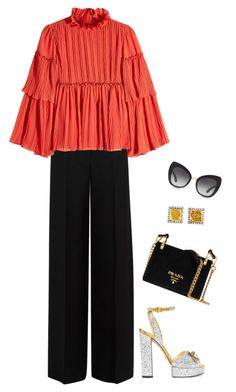 Untitled #3772 by elia72 on Polyvore featuring polyvore, fashion, style, See by Chloé, Alexander McQueen, Gucci, Prada, Nak Armstrong, Dolce&Gabbana and clothing #elia72