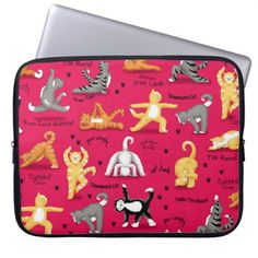 Kitty Cat Yoga Poses Colorful Red Yellow Whimsy Laptop Sleeve   partner yoga, yoga philosophy, sculpt yoga #bienestar #yogapractice #yogadailypractice, 4th of july party Yoga Workouts, Exercises, Face Yoga Method, What Is Yoga, Yoga World, Yoga Philosophy, Partner Yoga, Yoga Day, Custom Laptop