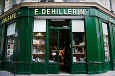 The premier go-to source for kitchenware in Paris is E. Dehillerin, located in the city's deuxieme arrondissement. Founded in 1820, the venerable store sells a wide variety of kitchen tools and cookware and is an essential destination for chefs and culinary historians everywhere.