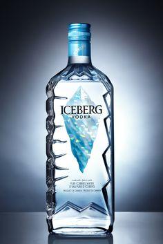 Iceberg vodka PD