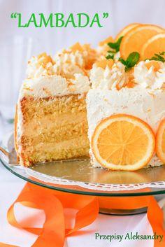 Polish Recipes, Polish Food, Cute Cakes, Cakes And More, Amazing Cakes, Vanilla Cake, Food To Make, Cake Decorating, Cheesecake
