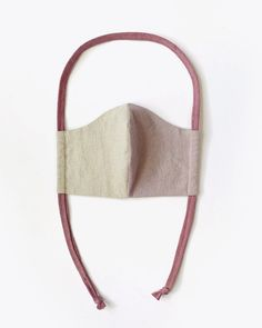 Upcycled Two-Toned Linen & Cotton Lined Mask | Nisolo Mask Marketplace Diy Mask, Diy Face Mask, Face Masks, Pattern Cutting, Pattern Sewing, Go Shopping, Hand Sewing, Upcycle, Burlap