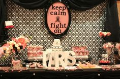 Breast cancer free celebration party {Mom's 10 year cancer free party idea}