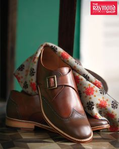 Adorn the right accessories and spread your charm with ease Stop by The Raymond Seconds Shop - Paldi TODAY!#Menswear #MensFashion #Accesories #FormalShoes #TheCompleteMan #RaymondStore #Ahmedabad