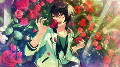 17#朔間凛月 Ritsu Sakuma, Sakuma Rei, Anime Boys, Summer Knight, Star Character, Boy Poses, Image Notes, Ensemble Stars, Winter Cards