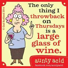 Why waste it ??? At least drink the wine first,throw the glass!!!
