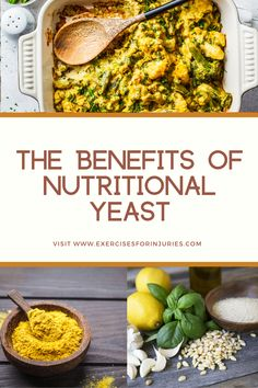 Nutritional Yeast Benefits and why to get it in your diet.