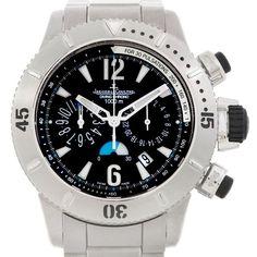 2738394162d Details about Jaeger Lecoultre Master Compressor Titanium Watch 160.T.25