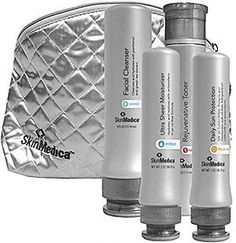 SkinMedica Skin Care Regimen / Kit Normal-Dry #2 by SkinMedica. $153.90. And it all comes in a silver SkinMedica carrying bag, great for travel. Facial Cleanser 6 oz. - removes dirt and debris while protecting with green tea extract.. Daily Physical Defense Sunscreen SPF 30+ - SPF 30 broad-spectrum sun protection in an oil-free form. Rejuvenative Moisturizer 2oz. - this vitamin-rich moisturizer helps revive tired, stressed and depl. Rejuvenative Toner 6 oz. - non-drying formula ...