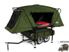 Прицеп-палатка для велосипеда Midget Bushtrekka-2