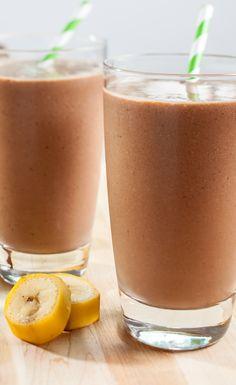 Chocolate Banana Smoothie Recipe #VegaProteinSmoothie #bestsmoothie #vegasmoothie