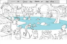 Living Lines Library: Hotel Transylvania (2012) - Storyboards & Beatboards
