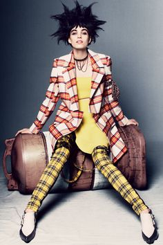 Fashion's Fresh New Faces Pose in Fall's Best Punk Looks: Featuring Bryn Baughman