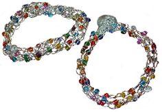 wire bracelet #crochet pattern