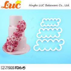 LUC Quality Products 3 Sizes FMM Easy Rose Fondant Flower Cutters Cake Decorating Tools -  Buy online LUC Quality Products 3 sizes FMM Easy Rose Fondant Flower Cutters Cake Decorating Tools only US $12.00 US $9.60. This Online shop give you the best deals of finest and low cost which integrated super save shipping for LUC Quality Products 3 sizes FMM Easy Rose Fondant Flower Cutters Cake Decorating Tools or any product.  I hope you are very happy To be Get LUC Quality Products 3 sizes FMM…