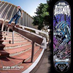 Darkstar Skateboards Pro Ryan Decenzo frontside hurricane | photo: Joe Krolick | Ryan Decenzo Metal Series board 8.25 x 31.7 x 14.25-inch wheelbase out now. #DarkstarSkateboards