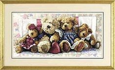 A Row of Love: Cross stitch (Dimensions, D35039)