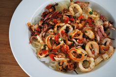 Broiled Calamari... tried this out tonight and it was delicious!