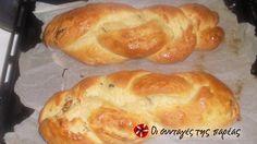Τσουρέκι νηστίσιμο γεμιστό #sintagespareas Sweet Bread, Sweets, Vegan, Cooking, Cake, Desserts, Breads, Food, Sweet Pastries