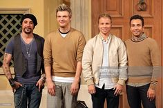 A.J. McLean, Nick Carter, Brian Littrel and Howie Dorough of Backstreet Boys attend a 'Special Fun Event' promoting their new album 'Unbreakable' at Venusfort on October 23, 2007, in Tokyo, Japan. The album will be released on October 24 in Japan. They are scheduled to peform at concerts in February next year in Tokyo.