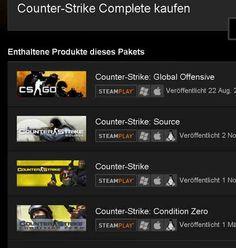 Counter-Strike Complete PC/MAC Multi Language Steam Key