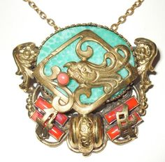 Neiger Chinese Necklace