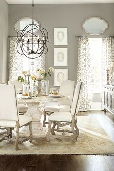 Love the jars and candleholders on the table; the soft colors are beautiful as well.