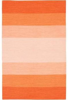 Buy your Orange Ombre India Rug by Chandra Rugs here. This ombre rug in cool aqua tones is right on trend. Orange Tapete, Orange Rugs, Orange Walls, Orange Area Rug, Aesthetic Backgrounds, Aesthetic Iphone Wallpaper, Aesthetic Wallpapers, Contemporary Area Rugs, Modern Rugs