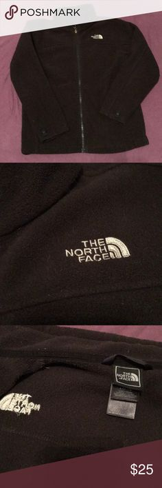 The North Face Boys Fleece Jacket EUC Medium 10/12 This black north face fleece is in excellent condition! It has not been labeled and is like new. It is a Boys M which is a 10/12 and was only worn a handful of times. From a pet friendly & smoke free home. Feel free to bundle for a discount! North Face Jackets & Coats